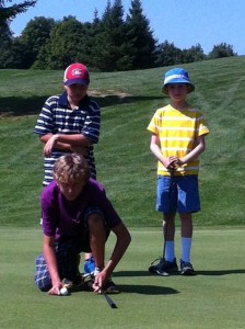 junior golf players camp