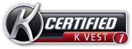 k-trainer k-vest logo