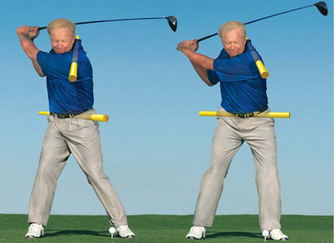 Increase Upper Body Rotation - The Ultimate Golf School